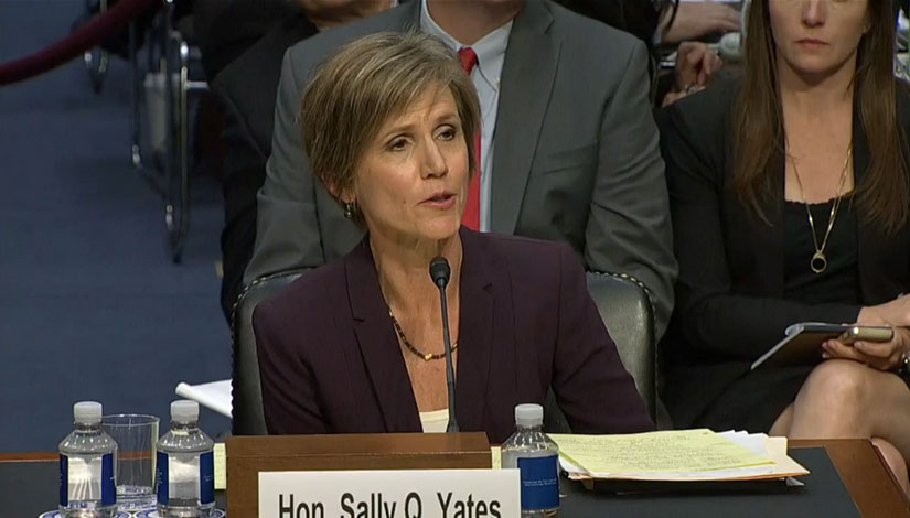 Former Attorney General Sally Yates