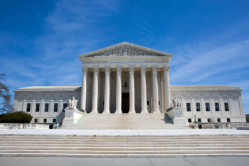 stock photo: U.S. Supreme Court