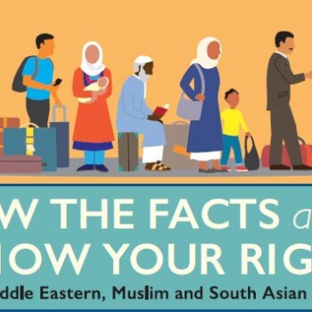 Asian middle eastern know your rights