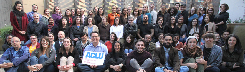 2018 ACLU NorCal Staff Photo