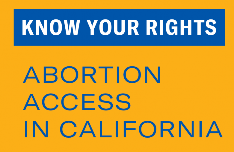 Abortion access in California