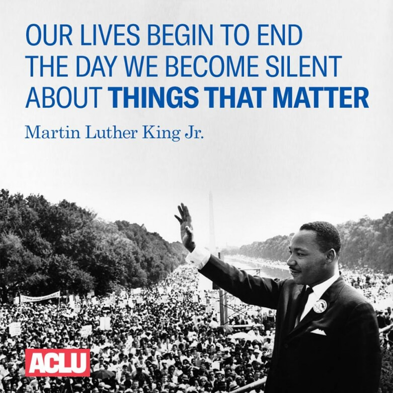 Fifty Years After Mlk S Death We Re Still Fighting For Civil Rights Aclu Of Northern Ca