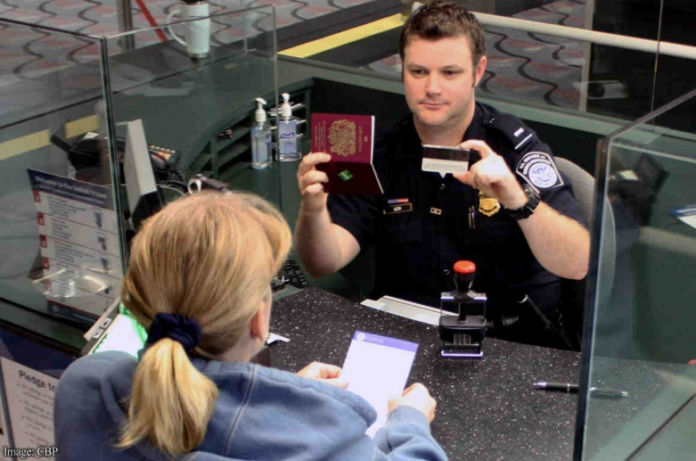 CBP face recognition check