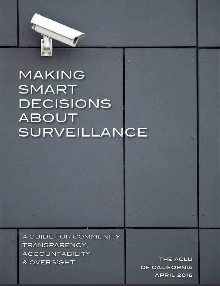Making Smart Decisions About Surveillance
