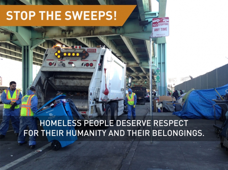 stop the sweeps!