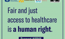 Fair and Just access to healthcare is a human right.