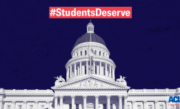 State Capitol with #StudentsDeserve