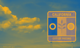 Fresno Flag Graphic