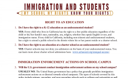 Immigration & Students