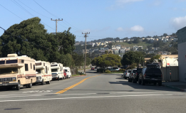 RVs Parked in Pacifica