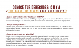 California Healthy Youth Act