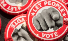 """Let People Vote"" buttons"