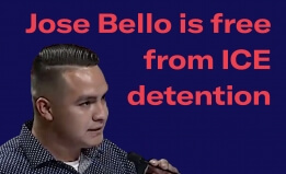Free Jose Bello Poster