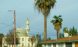Mosque in Fresno, CA by David Prasad