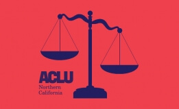 Shutterstock Scales + ACLU NorCal logo