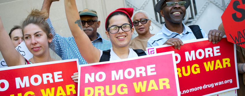 no more drug war signs
