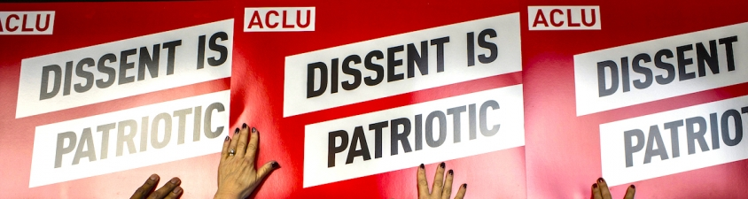dissent is patriotic signs