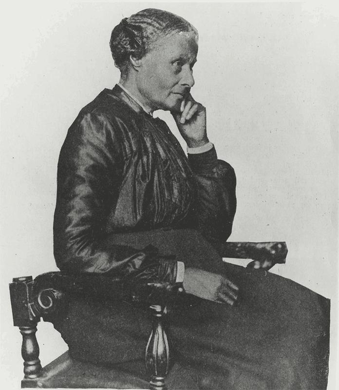 Mary Ellen Pleasant at age 87